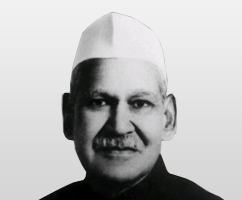 President of India - Dr. S. D. Sharma